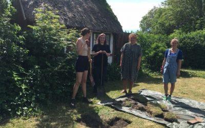Studerende graver fynske baghaver op